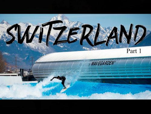 ALAÏA BAY | SURFING IN SWITZERLAND